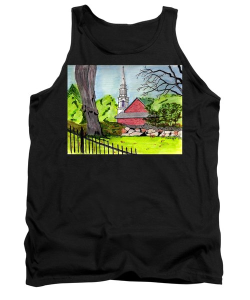 Beverly First Baptist Church Tank Top by Paul Meinerth