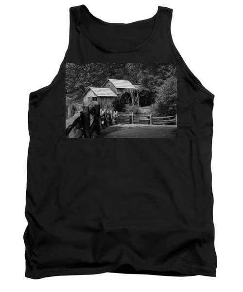 Beyond The Fence Tank Top by Eric Liller