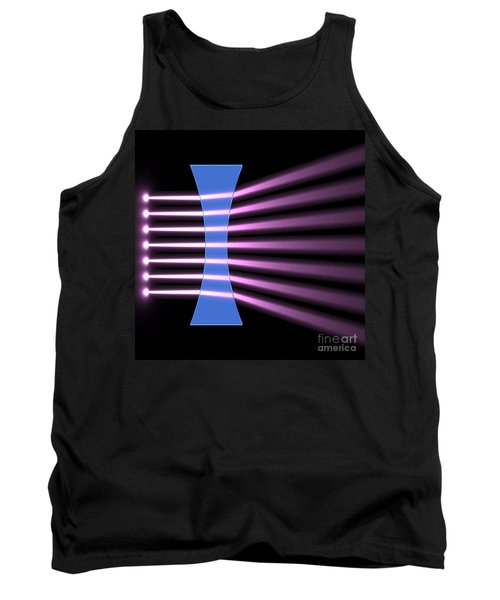 Tank Top featuring the digital art Biconcave Lens 2 by Russell Kightley