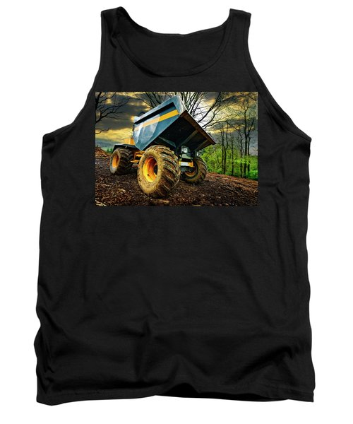 Big Bad Dumper Truck Tank Top