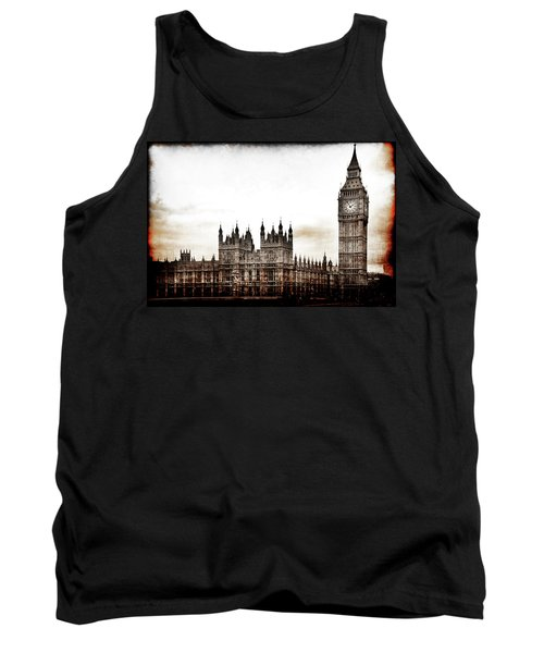 Big Bend And The Palace Of Westminster Tank Top
