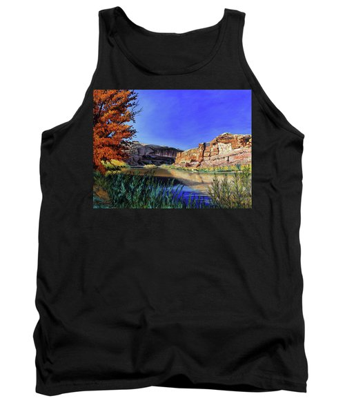 Big Bend On The Colorado Tank Top