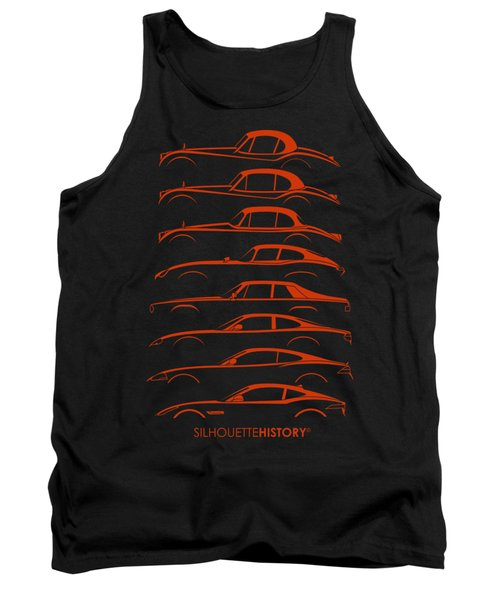 Big Cat Coupe Silhouettehistory Tank Top