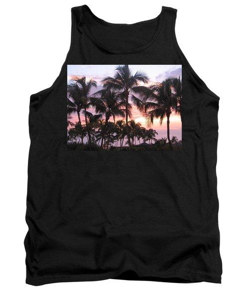 Big Island Sunset 3 Tank Top