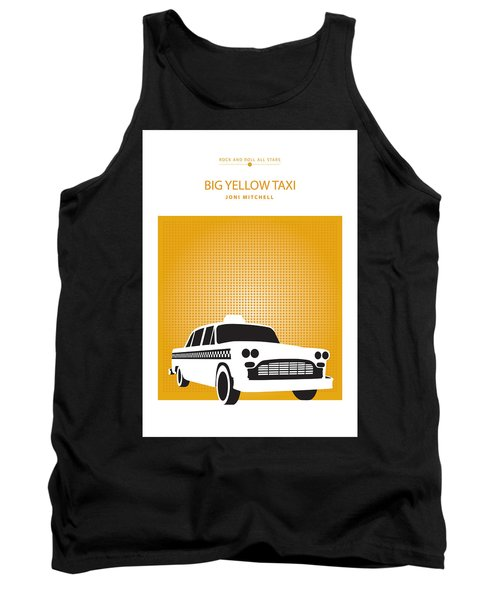 Big Yellow Taxi -- Joni Michel Tank Top
