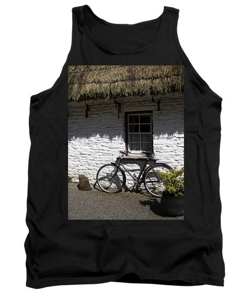 Bike At The Window County Clare Ireland Tank Top