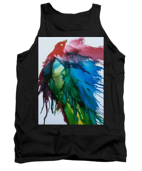 Bird Of  Many Colours Tank Top