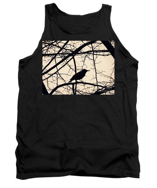 Bird Silhouette Tank Top by Sarah Loft