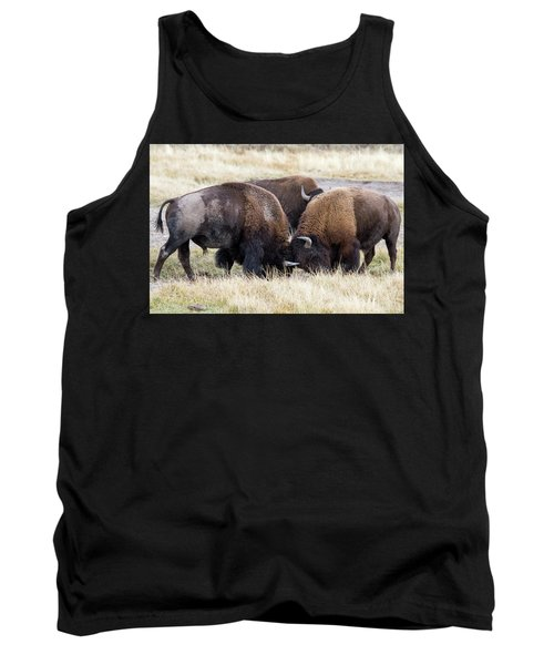 Bison Fight Tank Top