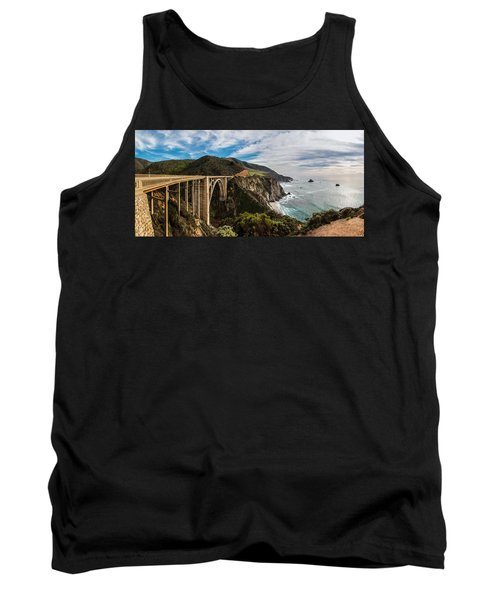 Bixby Creek Bridge Big Sur California  Tank Top