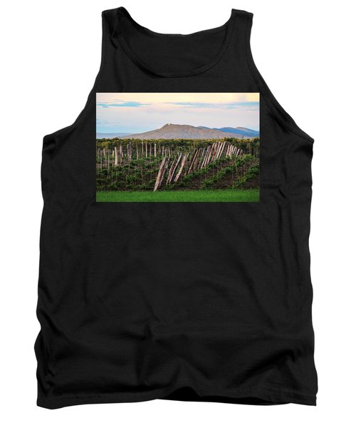 Black Birch Vineyard And Summit House View Tank Top
