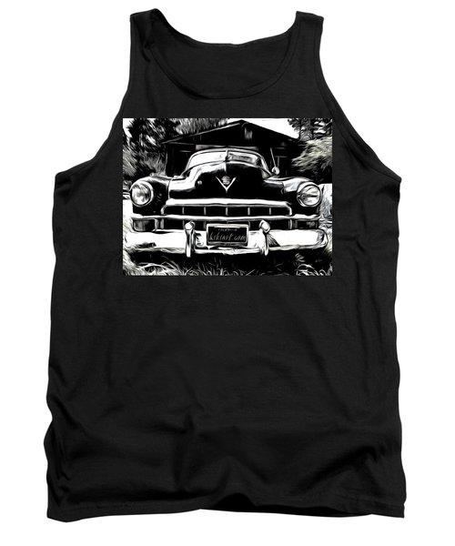 Black Cadillac Tank Top