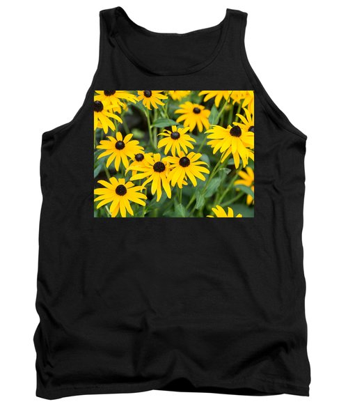 Black-eyed Susan Up Close Tank Top