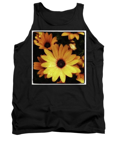 Tank Top featuring the photograph Black Eyed Susans. Looks Like They're by Mr Photojimsf