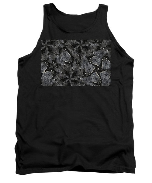 Black Granite Kaleido 3 Tank Top