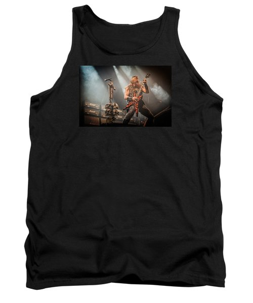 Tank Top featuring the photograph Black Label Society II by Stefan Nielsen