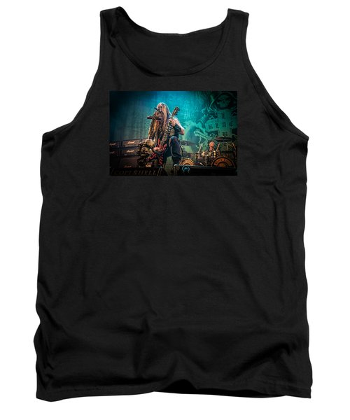 Tank Top featuring the photograph Black Label Society by Stefan Nielsen
