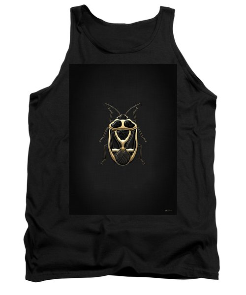 Black Shieldbug With Gold Accents  Tank Top