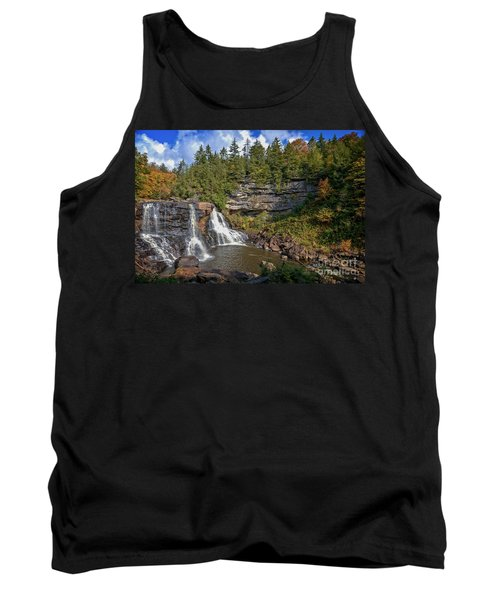 Blackwater Falls  In Autumn 3879c Tank Top