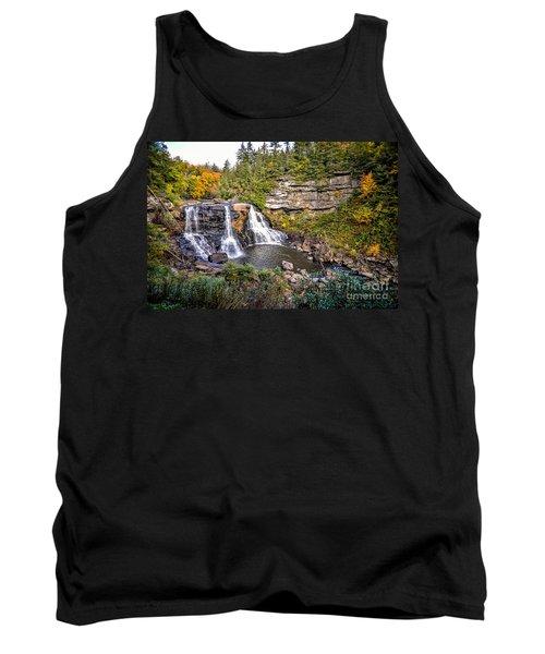 Blackwater Falls In Autumn3836c Tank Top
