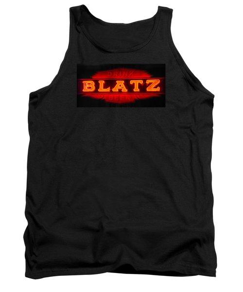 Blatz Beer  Tank Top