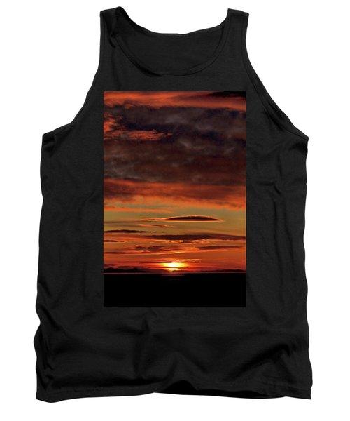 Blazing Sunset Tank Top