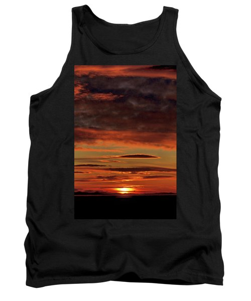 Blazing Sunset Tank Top