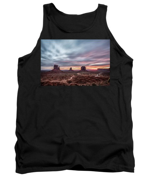 Blended Colors Over The Valley Tank Top by Jon Glaser