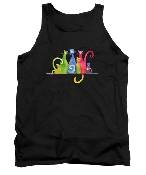 Blended Family Of Six Tank Top