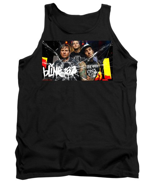 Blink 182 Collection Tank Top by Marvin Blaine