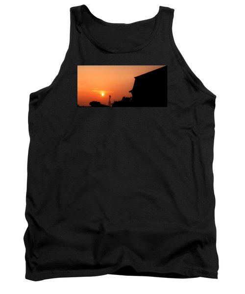 Block Island Sunset Tank Top