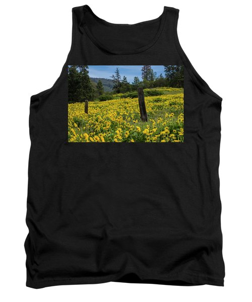 Blooming Fence Tank Top