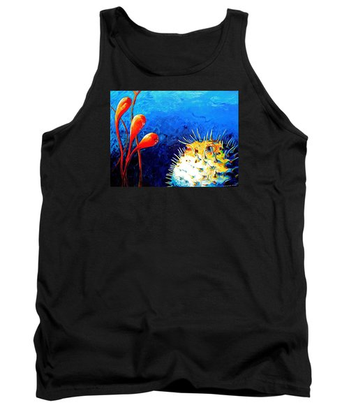Blow Fish Tank Top