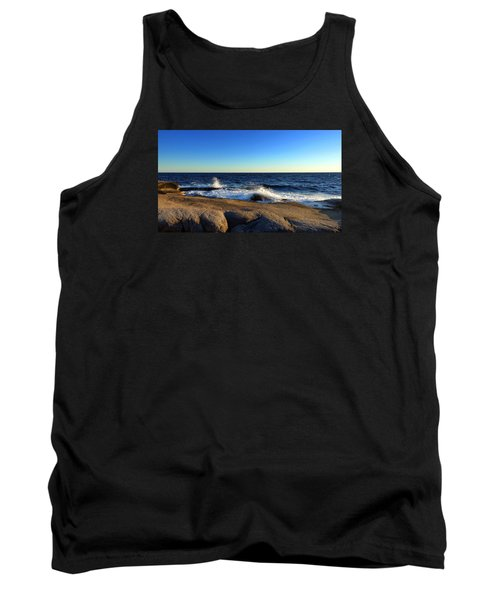 Blue Atlantic Tank Top by Heather Vopni