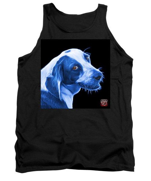 Blue Beagle Dog Art- 6896 - Bb Tank Top