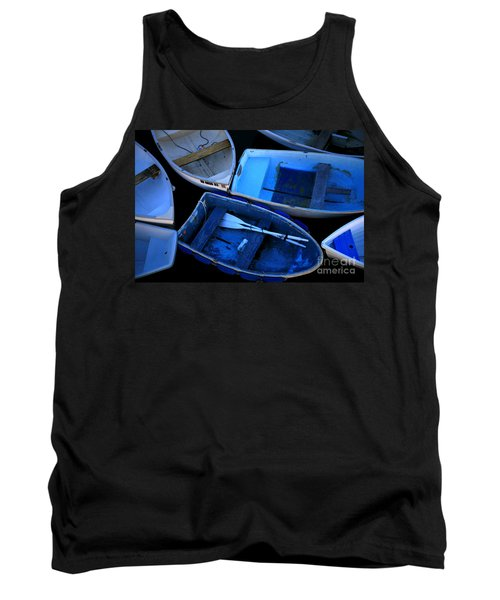 Blue Boats Tank Top