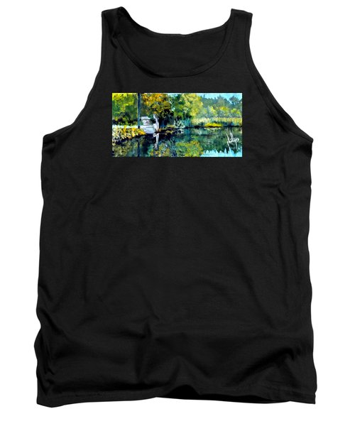 Blue Creek Fish Camp Tank Top