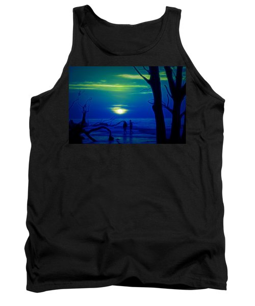 Blue Dawn Tank Top