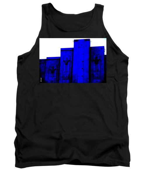 Blue Deco Tank Top