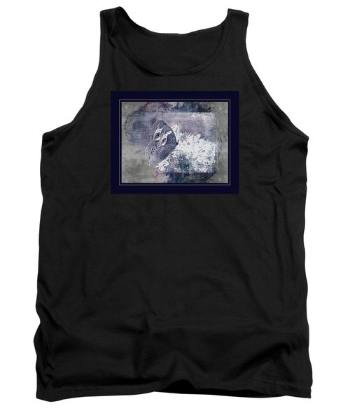 Blue Dreams And Butterflies Tank Top