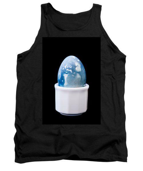 Tank Top featuring the photograph Blue Egg by Ari Salmela