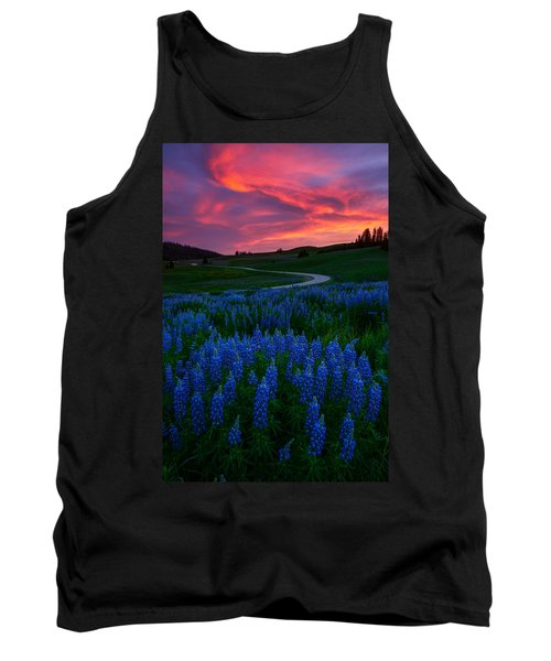 Blue Flame Tank Top