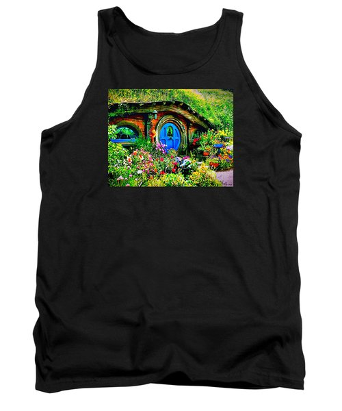 Blue Hobbit Door Tank Top