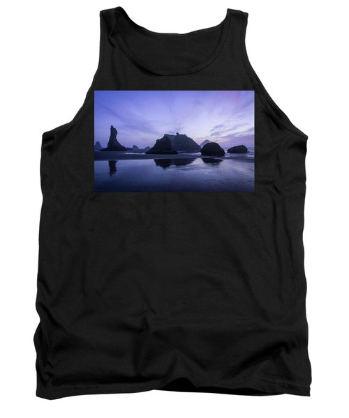 Blue Hour Reflections Tank Top