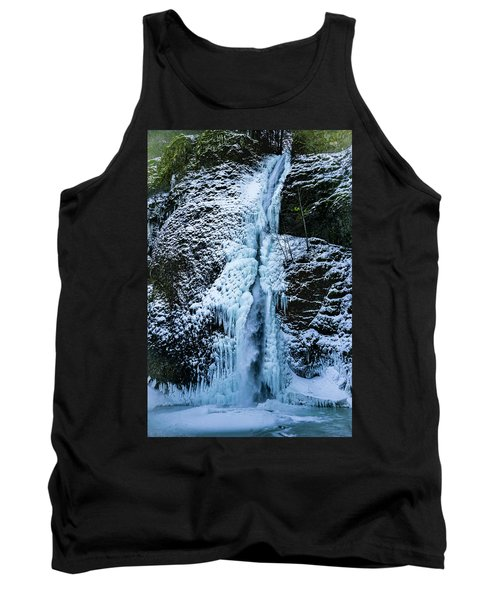 Blue Ice And Water Tank Top