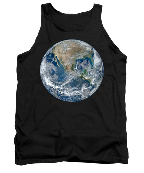 Blue Marble 2012 Planet Earth Tank Top