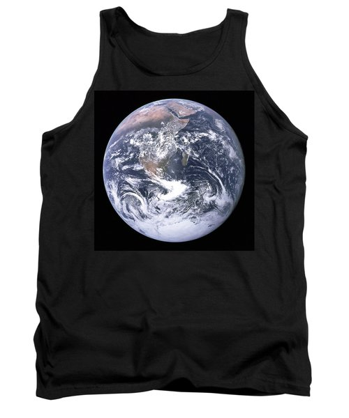 Blue Marble - Image Of The Earth From Apollo 17 Tank Top