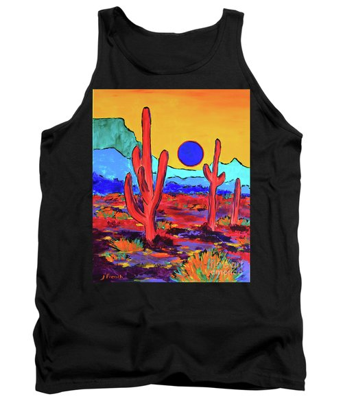 Blue Moon Tank Top by Jeanette French