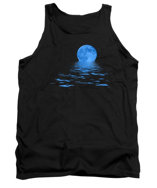 Blue Moon Tank Top by Shane Bechler