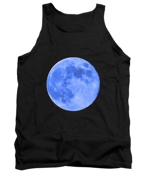 Blue Moon .png Tank Top by Al Powell Photography USA